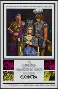 "Movie Posters:Historical Drama, Cleopatra (20th Century Fox, 1964). One Sheet (27"" X 41"").Historical Drama...."