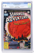 Golden Age (1938-1955):Science Fiction, Strange Adventures #2 (DC, 1950) CGC FN/VF 7.0 Off-white to whitepages....