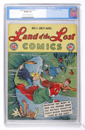 Golden Age (1938-1955):Humor, Land of the Lost Comics #1 (EC, 1946) CGC VF/NM 9.0 Light tan to off-white pages....
