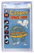 Bronze Age (1970-1979):Cartoon Character, Casper Space Ship #4 File Copy (Harvey, 1973) CGC NM+ 9.6 Off-whitepages....