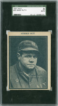 Baseball Cards:Singles (1930-1939), 1931 W517 Babe Ruth #20 SGC Authentic....