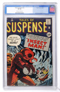 Silver Age (1956-1969):Horror, Tales of Suspense #24 (Marvel, 1961) CGC VF 8.0 Off-white to whitepages....