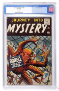 Silver Age (1956-1969):Horror, Journey Into Mystery #64 (Marvel, 1961) CGC VF 8.0 Off-whitepages....