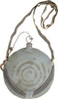 Military & Patriotic:Civil War, Historic Concentric Ring Canteen Carried by Fallen Pennsylvanian. ... (Total: 2 Items)