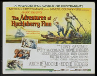 """The Adventures of Huckleberry Finn (MGM, 1960). Lobby Card Set of 8 (11"""" X 14""""). Adventure.... (Total: 8 Items..."""