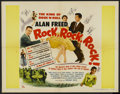 "Movie Posters:Rock and Roll, Rock, Rock, Rock (DCA, 1956). Half Sheet (22"" X 28""). Rock and Roll...."