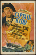 "Movie Posters:Action, Captain Kidd (United Artists, 1945). One Sheet (27"" X 41"").Action...."