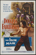 "Movie Posters:Adventure, The Iron Mask (Lippert, R-1953). One Sheet (27"" X 41"").Adventure...."