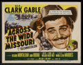 """Movie Posters:Western, Across the Wide Missouri (MGM, 1951). Lobby Card Set of 8 (11"""" X14""""). Western.... (Total: 8 Items)"""