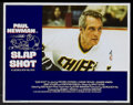 "Movie Posters:Sports, Slap Shot (Universal, 1977). Lobby Card Set of 4 and Lobby Card (11"" X 14""). Sports.... (Total: 5 Items)"
