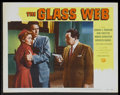 """Movie Posters:Crime, The Glass Web Lot (Universal International, 1953). Lobby Cards (8) (11"""" X 14""""). Crime.... (Total: 8 Items)"""