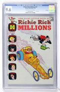 Bronze Age (1970-1979):Cartoon Character, Richie Rich Millions #41 File Copy (Harvey, 1970) CGC NM+ 9.6Off-white to white pages....