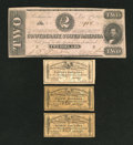 Confederate Notes:1862 Issues, T54 $2 1862.. ... (Total: 4 items)