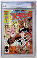 Modern Age (1980-Present):Superhero, X-Men #213 (Marvel, 1987) CGC NM/MT 9.8 White pages....