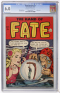Golden Age (1938-1955):Horror, The Hand of Fate #13 (Ace, 1952) CGC FN 6.0 Off-white to whitepages....