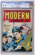 "Golden Age (1938-1955):War, Modern Comics #46 Davis Crippen (""D"" copy) pedigree (Quality, 1946)CGC FN+ 6.5 Cream to off-white pages...."