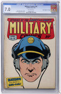 Golden Age (1938-1955):War, Military Comics #38 (Quality, 1945) CGC FN/VF 7.0 Off-whitepages....