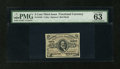Fractional Currency:Third Issue, Fr. 1236 5c Third Issue PMG Choice Uncirculated 63 EPQ....