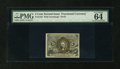 Fractional Currency:Second Issue, Fr. 1233 5c Second Issue PMG Choice Uncirculated 64 EPQ....