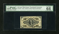 Fractional Currency:Third Issue, Fr. 1253 10c Third Issue PMG Choice Uncirculated 64 EPQ....