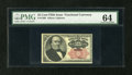 Fractional Currency:Fifth Issue, Fr. 1308 25c Fifth Issue PMG Choice Uncirculated 64....