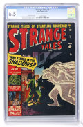 Golden Age (1938-1955):Horror, Strange Tales #7 (Atlas, 1952) CGC FN+ 6.5 Cream to off-whitepages....