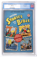 Golden Age (1938-1955):Religious, Picture Stories from the Bible Old Testament #2 Gaines File pedigree (EC, 1946) CGC NM 9.4 Off-white to white pages....