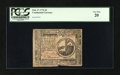 Colonial Notes:Continental Congress Issues, Continental Currency February 17, 1776 $2 PCGS Very Fine 20....
