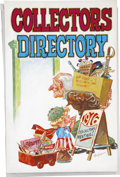 Original Comic Art:Covers, Don Newton Collector's Directory Cover Original Art(1976)....