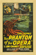 "Movie Posters:Horror, The Phantom of the Opera (Universal, 1925). One Sheet (27"" X41"")...."