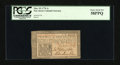 Colonial Notes:New Jersey, New Jersey March 25, 1776 1s PCGS Choice About New 58PPQ....