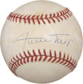 Autographs:Baseballs, Willie Mays Single Signed Baseball....