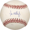Autographs:Baseballs, Don Mattingly Single Signed Baseball....