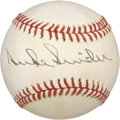 Autographs:Baseballs, Duke Snider Single Signed Baseball....
