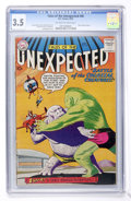 Silver Age (1956-1969):Horror, Tales of the Unexpected #40 (DC, 1959) CGC VG- 3.5 Off-white towhite pages....