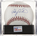 Autographs:Baseballs, Gary Carter Single Signed Baseball, PSA Mint+ 9.5....