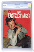 Silver Age (1956-1969):Adventure, Four Color #1168 The Detectives (Dell, 1961) CGC NM 9.4 Off-white pages....