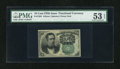 Fractional Currency:Fifth Issue, Fr. 1264 10c Fifth Issue PMG About Uncirculated 53 EPQ....