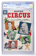 Silver Age (1956-1969):Adventure, Four Color #694 Super Circus (Dell, 1956) CGC NM 9.4 Off-white pages....