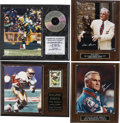 Football Collectibles:Others, NFL Stars Signed Photographs Lot of 4....