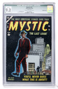 Golden Age (1938-1955):Science Fiction, Mystic #31 (Atlas, 1954) CGC Qualified NM- 9.2 Cream to off-whitepages....