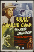 "Movie Posters:Mystery, The Red Dragon (Monogram, 1945). One Sheet (27"" X 41""). Mystery...."