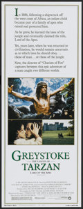 "Movie Posters:Adventure, Greystoke: The Legend of Tarzan, Lord of the Apes (Warner Brothers,1983). Insert (14"" X 36""). Adventure...."