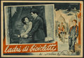 "Movie Posters:Foreign, The Bicycle Thief (Ente Nazionale Industrie Cinematografiche (ENIC), 1948). Italian Photobusta (13"" X 19""). Foreign...."