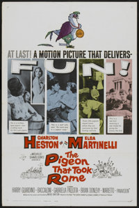 """The Pigeon That Took Rome (Paramount, 1962). One Sheet (27"""" X 41""""). Comedy"""