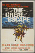 "Movie Posters:War, The Great Escape (United Artists, 1963). One Sheet (27"" X 41"").War...."