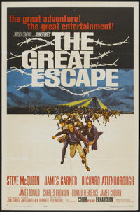 "The Great Escape (United Artists, 1963). One Sheet (27"" X 41""). War"