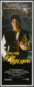 "Movie Posters:Sports, All the Right Moves (20th Century Fox, 1983). Insert (14"" X 36""). Sports...."
