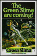 "Movie Posters:Science Fiction, The Green Slime (MGM, 1969). One Sheet (27"" X 41""). ScienceFiction...."