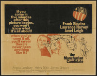 """The Manchurian Candidate Lot (United Artists, 1962). Half Sheets (4) (22"""" X 28""""). Thriller.... (Total: 4 Items..."""